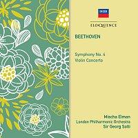Mischa Elman, London Philharmonic Orchestra, Sir Georg Solti – Beethoven: Symphony No. 4; Violin Concerto