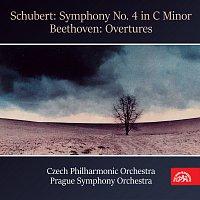 Franz Schubert, Ludwig van Beethoven, různí interpreti – Schubert: Symfonie č. 4 c moll - Beethoven: Předehry