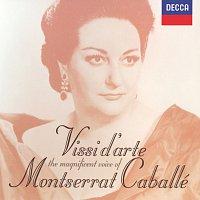 Přední strana obalu CD Vissi d' arte: The Magnificent Voice of Montserrat Caballé