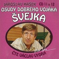 Přední strana obalu CD Hašek: Osudy dobrého vojáka Švejka CD 11 & 12