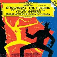 Chicago Symphony Orchestra, Pierre Boulez – Stravinsky: L'Oiseau de Feu; Feu d'artifice; Quatre Etudes pour orchestre