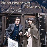 Přední strana obalu CD Můj dík. Hana Hegerová zpívá písně Pavla Kopty