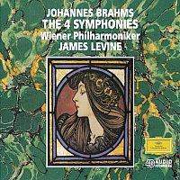 Anne Sofie von Otter, Wiener Philharmoniker, Arnold Schoenberg Chor, James Levine – Brahms: Symphonies Nos. 1-4; Alto-Rhapsody; Tragic Overture