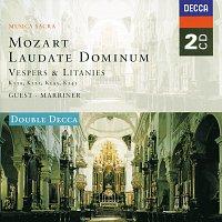 Přední strana obalu CD Mozart: Laudate Dominum - Vespers & Litanies