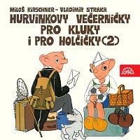 Přední strana obalu CD Kirschner, Straka: Hurvínkovy večerníčky pro kluky a pro holčičky (2)