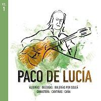 Přední strana obalu CD Paco De Lucía Por Estilos [Vol.1]