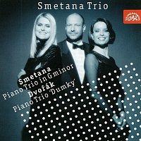 Přední strana obalu CD Smetana, Dvořák: Trio g moll, Dumky