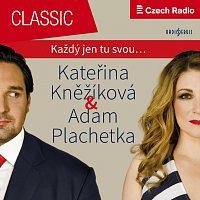 Přední strana obalu CD Duets and Arias: Adam Plachetka & Kateřina Kněžíková