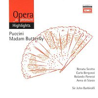 Sir John Barbirolli, Coro del Teatro dell'Opera, Roma, Orchestra del Teatro dell'Opera, Roma – Puccini: Madam Butterfly (highlights)