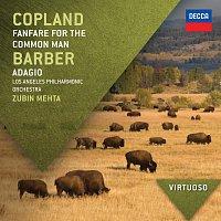 Los Angeles Philharmonic, Zubin Mehta, Baltimore Symphony Orchestra, David Zinman – Copland: Fanfare For The Common Man / Barber: Adagio