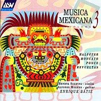 Přední strana obalu CD Musica Mexicana Vol. 3: Halffter, Moncayo, Ponce, Revueltas