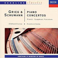 Sir Clifford Curzon, Friedrich Gulda, Sir Adrian Boult, Volkmar Andreae – Grieg/Schumann/Franck: Piano Concertos/Symphonic Variations