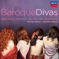 Přední strana obalu CD Baroque Divas