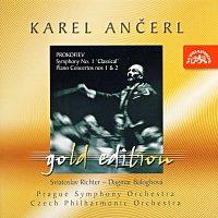 Česká filharmonie, Karel Ančerl – Ančerl Gold Edition 10. Prokofjev: Symfonie č. 1 D dur, Koncerty pro klavír a orchestr č. 1 a 2