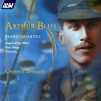 Přední strana obalu CD Bliss: Piano Quartet; Angels of the Mind; Triptych