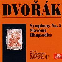 Česká filharmonie, Karel Šejna – Dvořák: Symfonie č. 5, Slovanské rapsodie