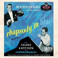 Přední strana obalu CD Gershwin: Rhapsody in Blue;  Piano Concerto