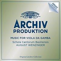 Schola Cantorum Basiliensis, August Wenzinger – Music For Viola Da Gamba
