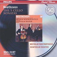 Mstislav Rostropovich, Sviatoslav Richter – Beethoven: The Cello Sonatas