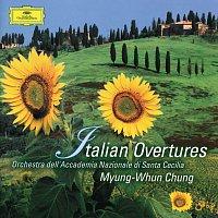 Přední strana obalu CD Italian Overtures