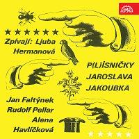Přední strana obalu CD P(l)ísničky Jaroslava Jakoubka