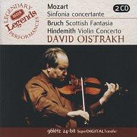 David Oistrakh, Igor Oistrakh, Moscow Philharmonic Orchestra, Kirill Kondrashin – Mozart: Sinfonia Concertante/Bruch: Scottish Fantasia; Hindemith: Violin Concerto