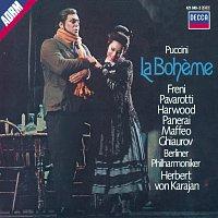 Přední strana obalu CD Puccini: La Boheme