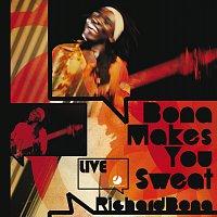 Přední strana obalu CD Bona Makes You Sweat - Live