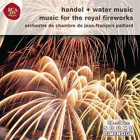 Přední strana obalu CD Handel: Water Music Suites; Music For The Royal Fireworks