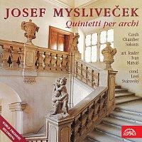 Přední strana obalu CD Mysliveček: Kvintety pro smyčce