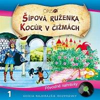 Přední strana obalu CD Najkrajsie rozprávky, No.1