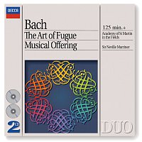 Přední strana obalu CD Bach, J.S.: The Art of Fugue; A Musical Offering