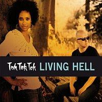 Přední strana obalu CD Living Hell