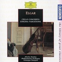 """Přední strana obalu CD Elgar: Cello Concerto in E Minor op.85; Variations on an original Theme (""""Enigma"""") op.36; Serenade for String Orchestra in E Minor op.20"""