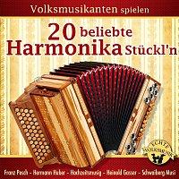 Různí interpreti – Volksmusikanten spielen 20 beliebte Harmonika Stuckl'n - Instrumental - Folge 1