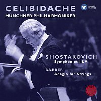 Přední strana obalu CD Shostakovich: Symphonies 1 & 9; Barber: Adagio for Strings