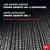 Dvořákovo kvartero, Československé kvarteto – Bartoš: Smyčcový kvartet č. 6 (Miniaturní) - Schulhoff: Smyčcový kvartet č. 1