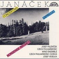 Přední strana obalu CD Janáček: Concertino, Capriccio, Říkadla