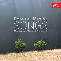 Přední strana obalu CD Martinů: Písně