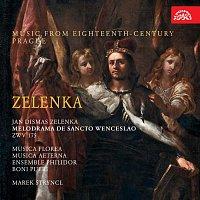 Přední strana obalu CD Zelenka: Melodrama de Sancto Wenceslao ZWV 175. Hudba Prahy 18. století