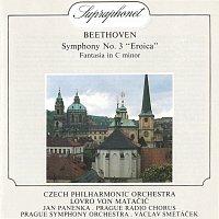 Česká filharmonie, Lovro von Matačić, Symfonický orchestr hl.m. Prahy (FOK), Václav Smetáček – Beethoven: Symfonie č. 3 Es dur, Eroica, Fantazie c moll