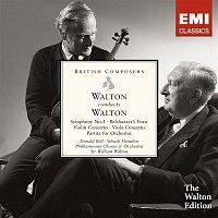 Sir William Walton – Walton conducts Walton: Symphony No. 1, Belshazzar's Feast etc