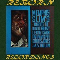 Přední strana obalu CD Memphis Slim's Tribute to Big Bill Broonzy, Leroy Carr, Cow Cow Davenport, Curtis Jones, Jazz Gillum (HD Remastered)