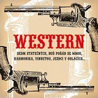 Přední strana obalu CD Western Poklad na stříbrném plátně