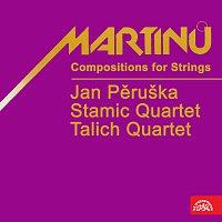 Přední strana obalu CD Martinů: Skladby pro smyčce