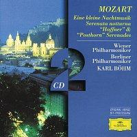 """Wiener Philharmoniker, Berliner Philharmoniker, Karl Bohm – Mozart, W.A.: Eine kleine Nachtmusik; Serenatas notturna,  """"Haffner"""" & """"Posthorn"""""""