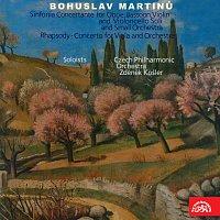 sólisté, Česká filharmonie/Zdeněk Košler – Martinů: Rapsódie pro violu a orchestr, Koncertantní symfonie