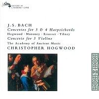 Christopher Hogwood, Davitt Moroney, Christophe Rousset, Colin Tilney – Bach, J.S.: Concertos for 3 & 4 Harpsichords