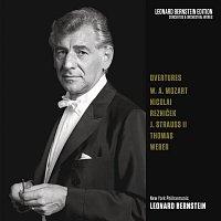 Leonard Bernstein, Carl Maria von Weber, New York Philharmonic Orchestra – Overtures: Mozart - Nicolai - Strauss, Jr. - von Weber - Thomas