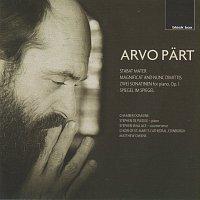 Přední strana obalu CD Part: Stabat Mater; Magnificat & Nunc dimittis; Es sang vor langen Jahren etc